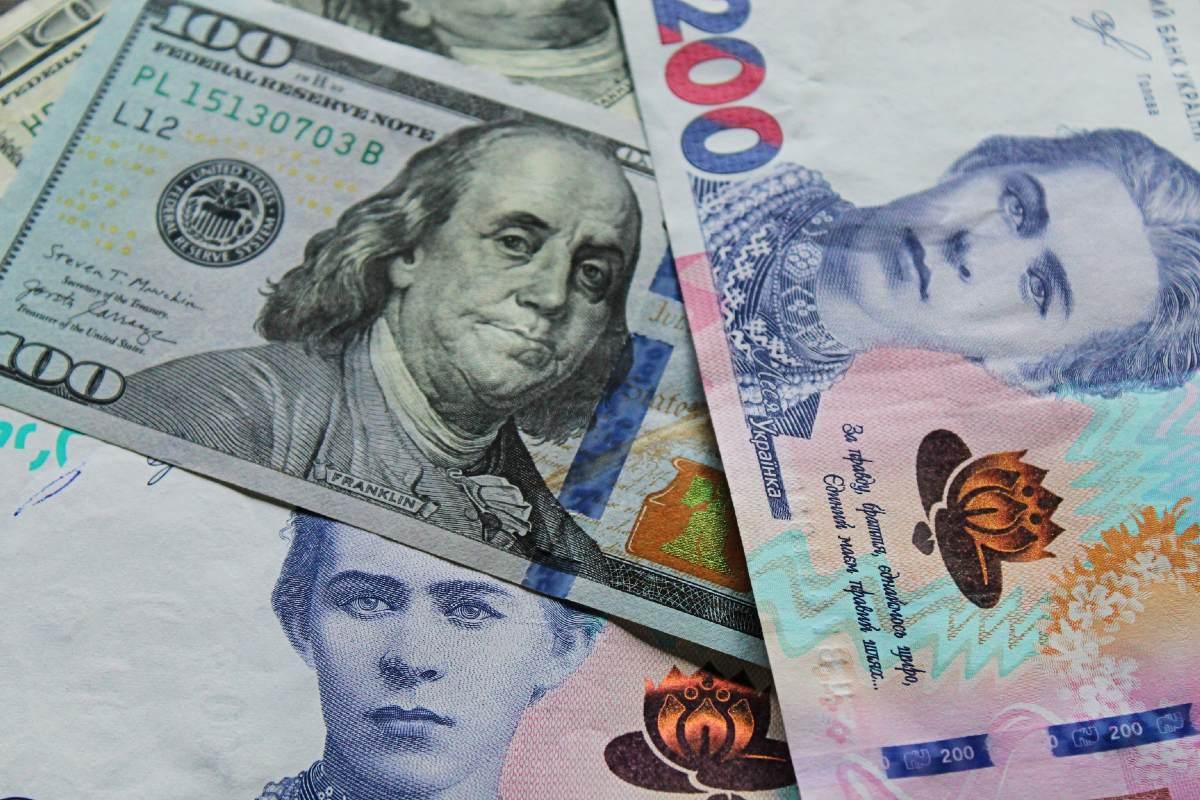 dollár hrivnya