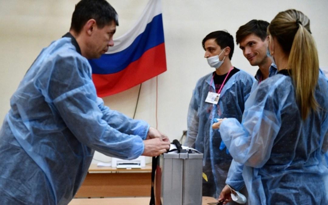 Az orosz kormánypárt 45,2 százalékkal megnyerte a parlamenti választást