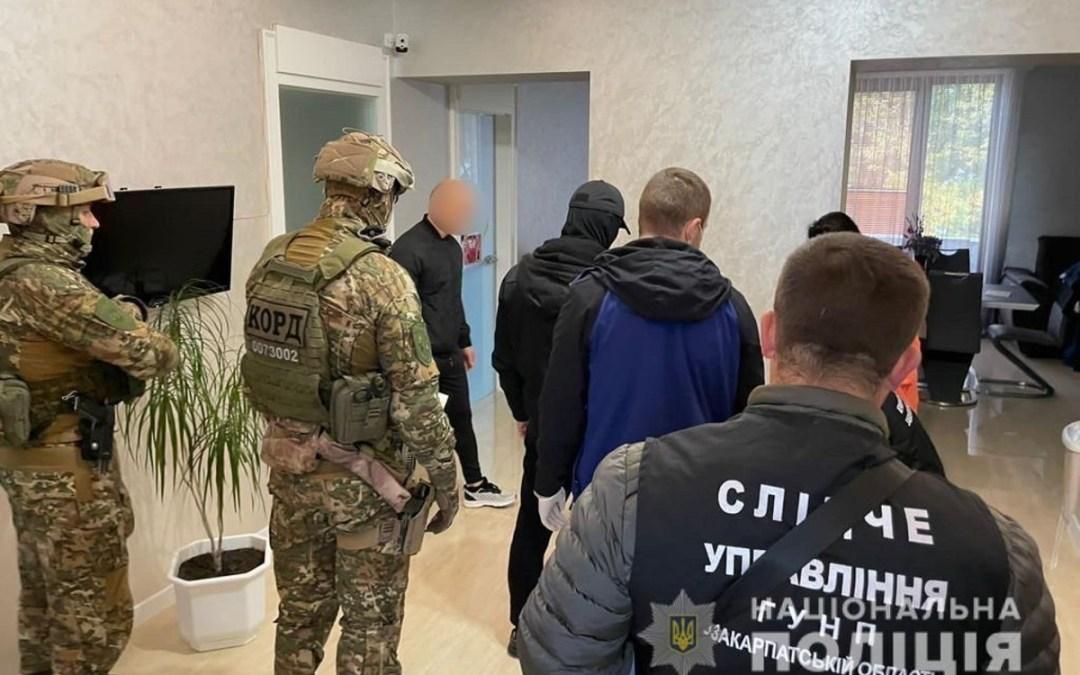 Kábítószer-kereskedőket vettek őrizetbe Munkácson