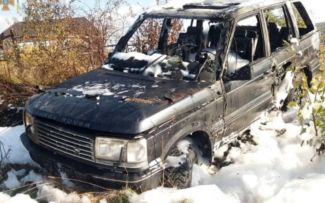 Kigyulladt egy Range Rover a Munkácsi járásban