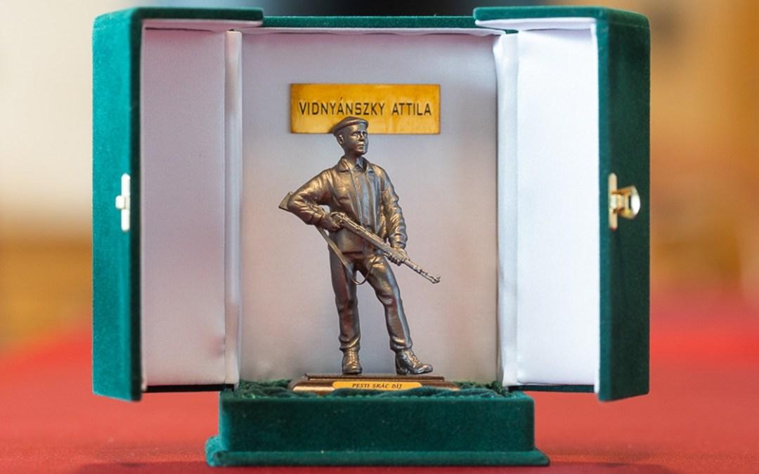 Pesti Srác-díjat kapott Vidnyánszky Attila