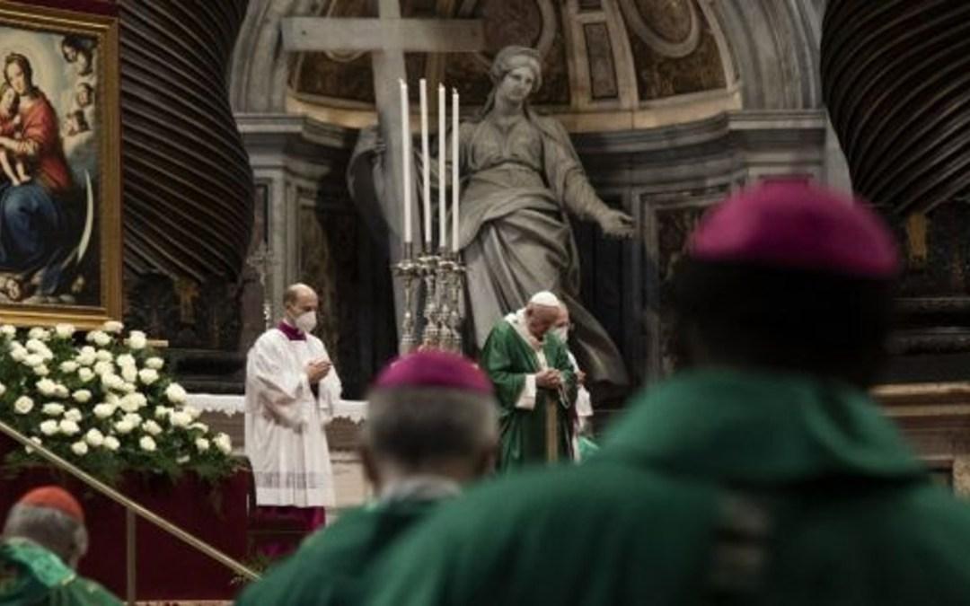 A világ összes katolikus egyházmegyéjében elkezdődik a kétéves szinódus