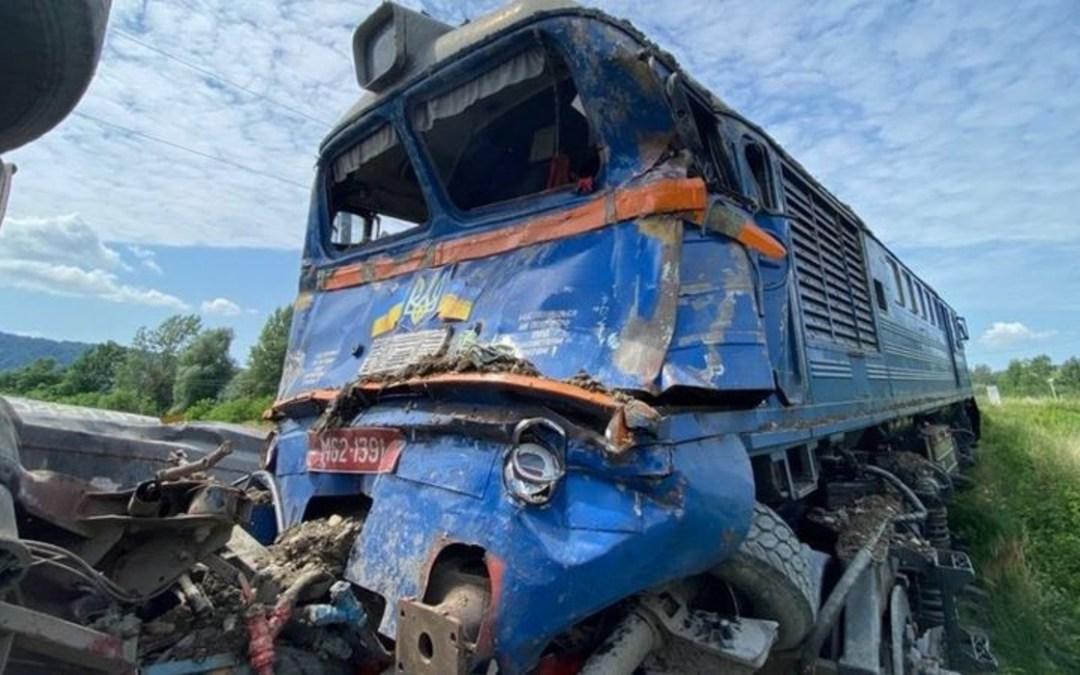 Terepjáróval ütközött egy vonat a Beregszászi járásban