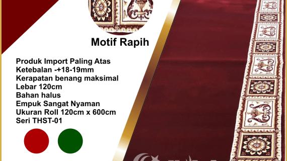 "Karpet Masjid Tebal Import THST<span class=""rmp-archive-results-widget ""><i class="" rmp-icon rmp-icon--ratings rmp-icon--star rmp-icon--full-highlight""></i><i class="" rmp-icon rmp-icon--ratings rmp-icon--star rmp-icon--full-highlight""></i><i class="" rmp-icon rmp-icon--ratings rmp-icon--star rmp-icon--full-highlight""></i><i class="" rmp-icon rmp-icon--ratings rmp-icon--star rmp-icon--full-highlight""></i><i class="" rmp-icon rmp-icon--ratings rmp-icon--star rmp-icon--full-highlight""></i> <span>5 (3)</span></span>"