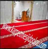 dimana tempat pesan karpet masjid di Lippo City cikarang barat