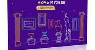 Ночь музеев 2018