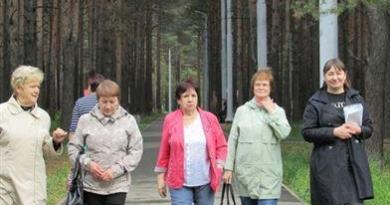 Прошагай Комсомольский парк