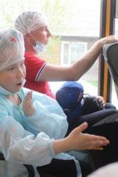 Автобусная экскурсия. В движение наши руки…