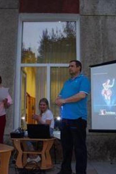 Награждение участников акции Ночь музеев-2021 Садовников О.А.