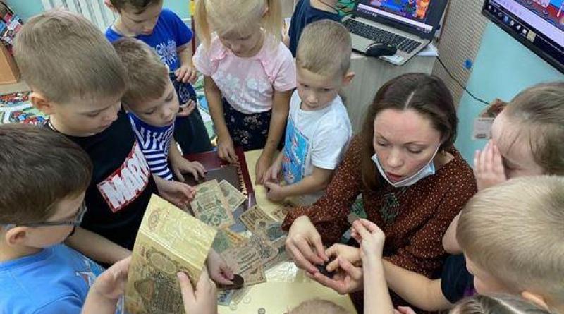 Музей идёт в детский сад