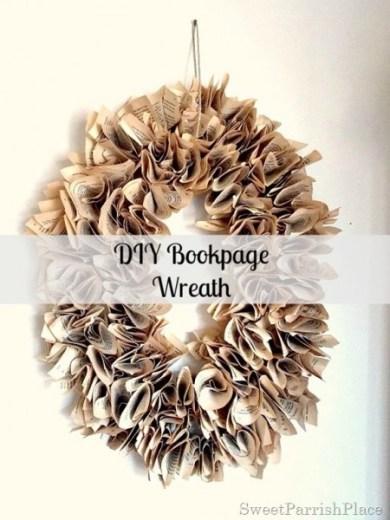 DIY Bookpage Wreath12_thumb