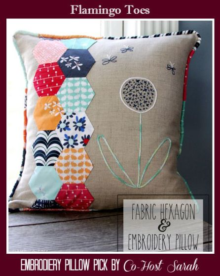 Embrodiered Pillow
