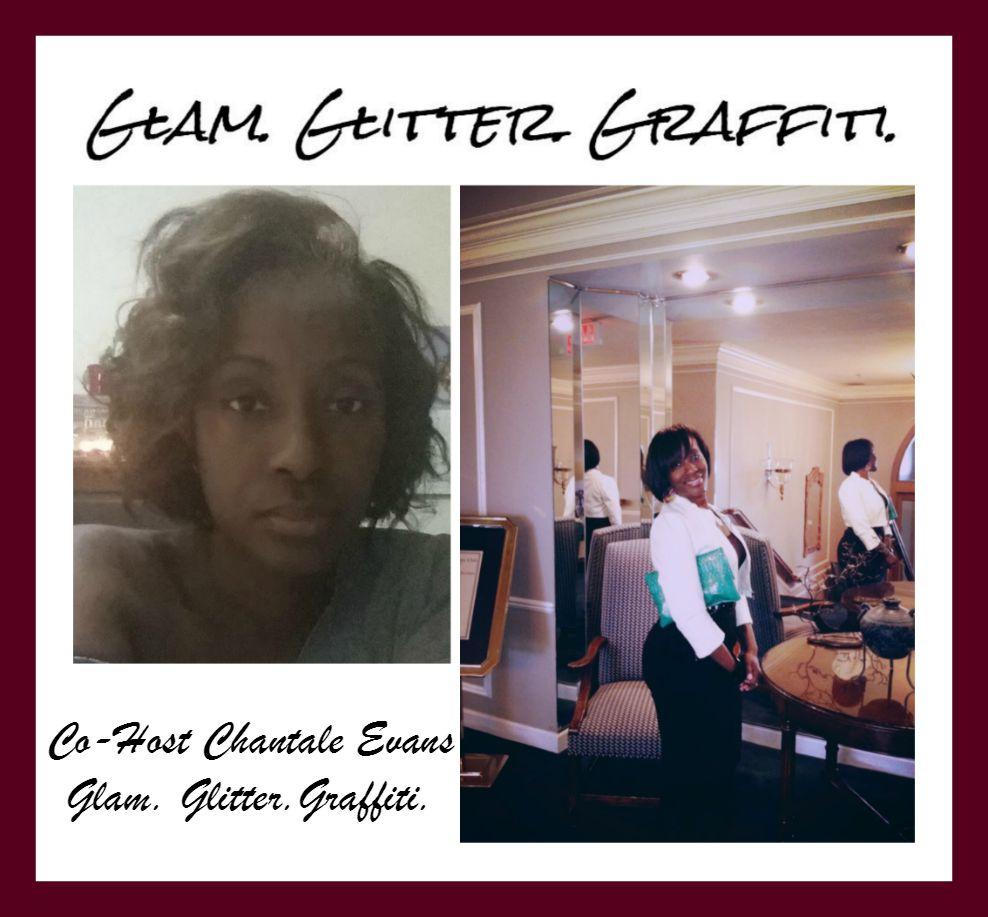 Glam Glitter Graffiti