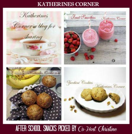 Katherines Corner-After School Snacks