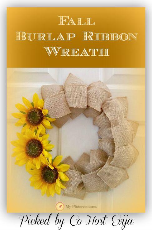Fall-ribbon-burlap-wreath-pinterventures