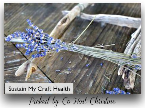 Lavender driftwood wreath-Sustain My Craft Health