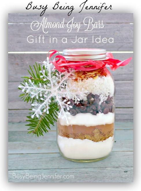Gift in a Jar Almond-Joy-Bars-Busy-Being-Jennifer