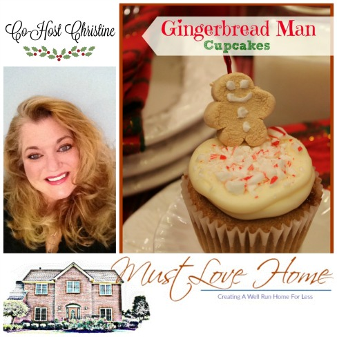 Gingerbread-Man Cupcakes-Must-Love-Home