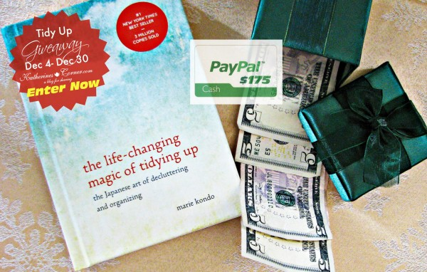 tidy up giveaway