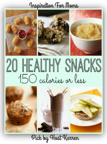 20+Healthy+Snacks+-+150+Calories+or+Less