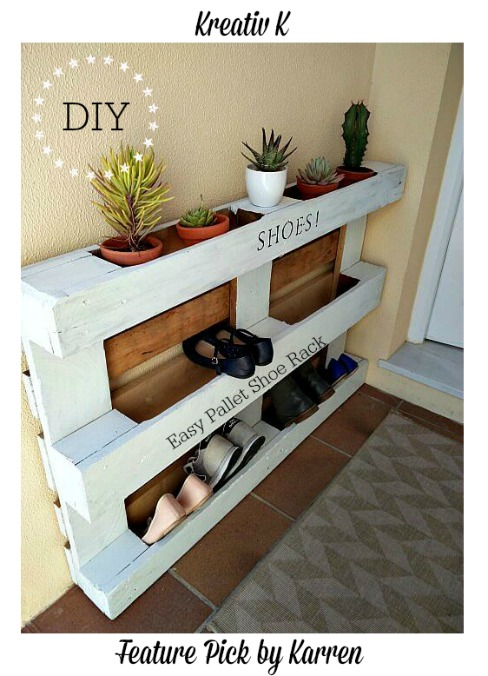 DIY-Easy-Pallet-Shoe-Rack