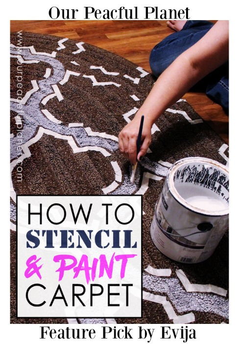 How-To-Stencil-and-Paint-Carpet