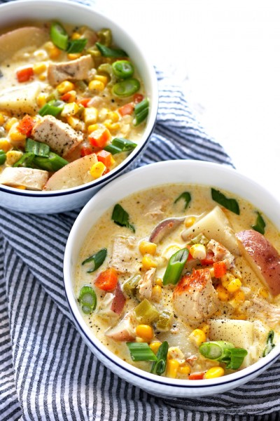 Honey and Birch Chicken Corn Chowder Recipe