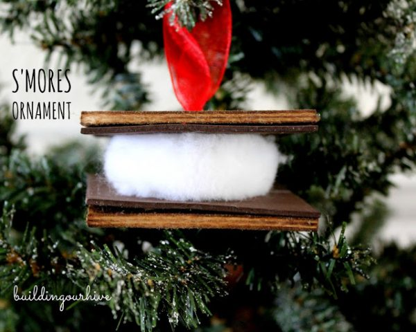Smores Ornament-Building Our Hive