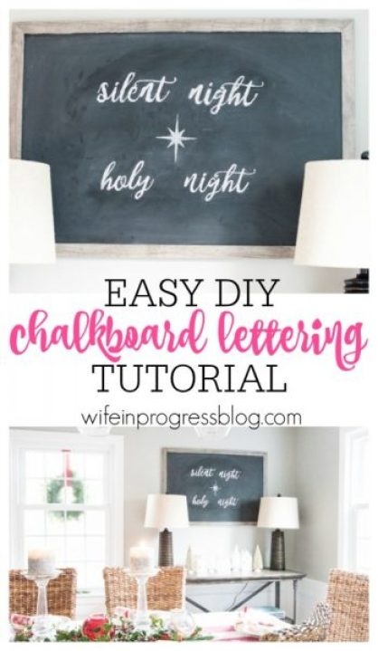 Wife In Progress Easy-diy-chalkboard-lettering-tutorial Christina