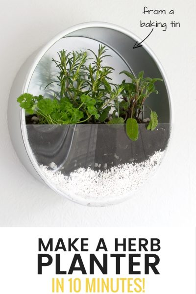 Grillo Designs Make An Indoor Herb Planter – In 10 Minutes!