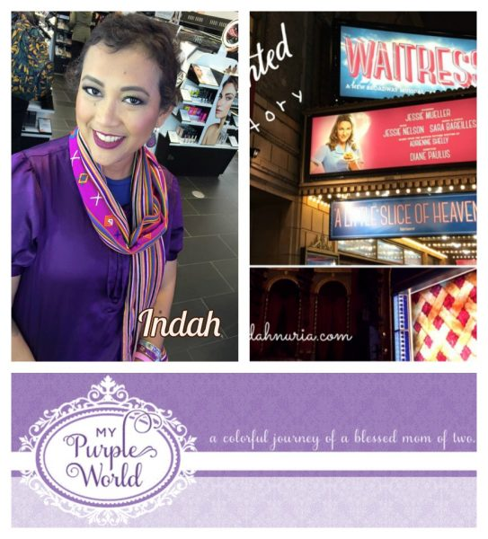My Purple World Enchanted Story of Waitress
