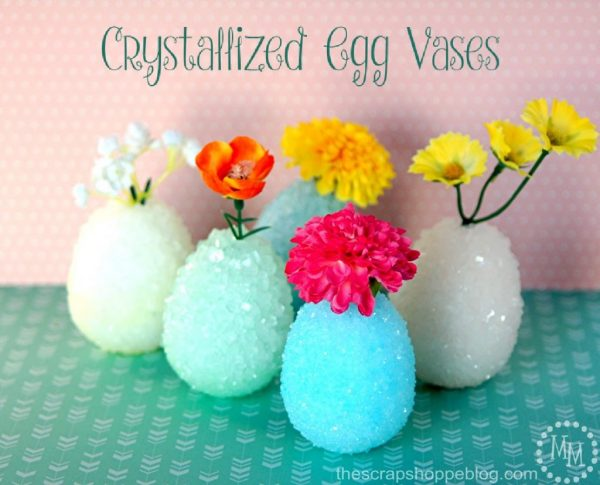 The Scrap Shoppe Crystallized-Egg-Vases