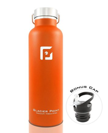 glacier point stainless steel water bottle