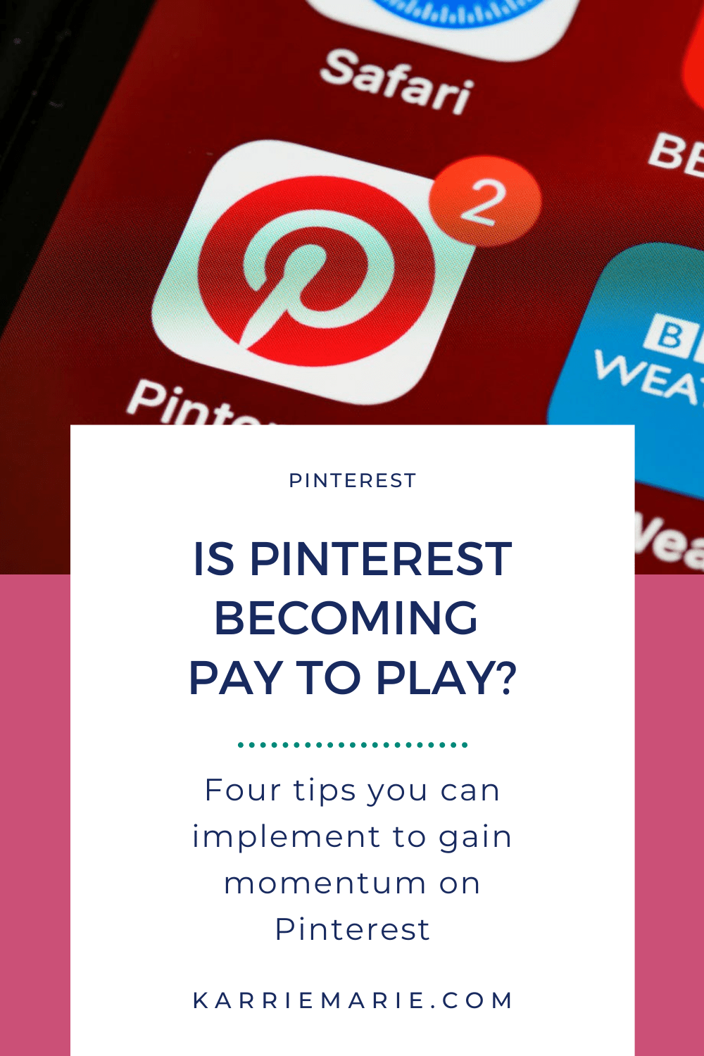 Is Pinterest Becoming Pay to Play