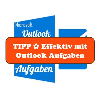 TIPP ✿ Outlook-Aufgaben © Sylvia NiCKEL