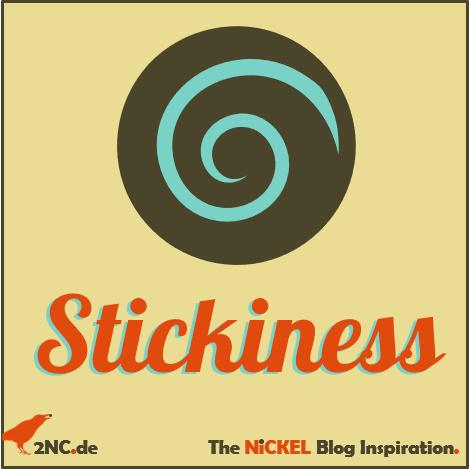 Stickiness von Apps © Sylvia NiCKEL