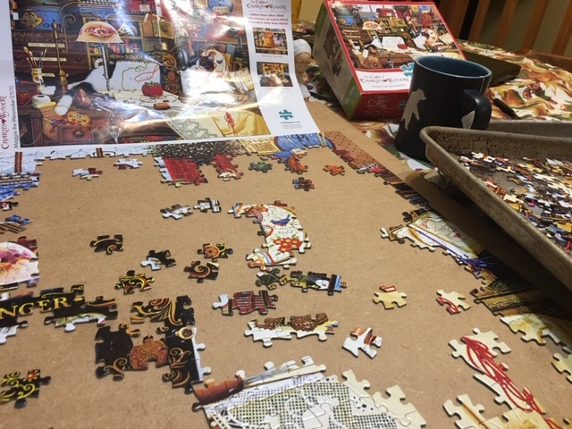Beginning the puzzle