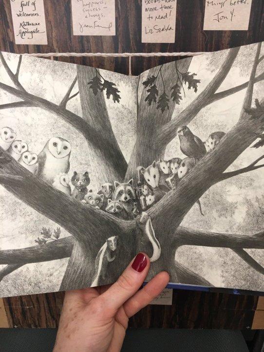 Animals in Wishtree