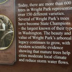 The tree planner plaque