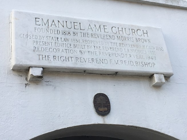 Emanuel AME Plaque