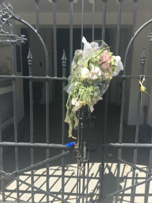 Flowers at Mother Emanuel
