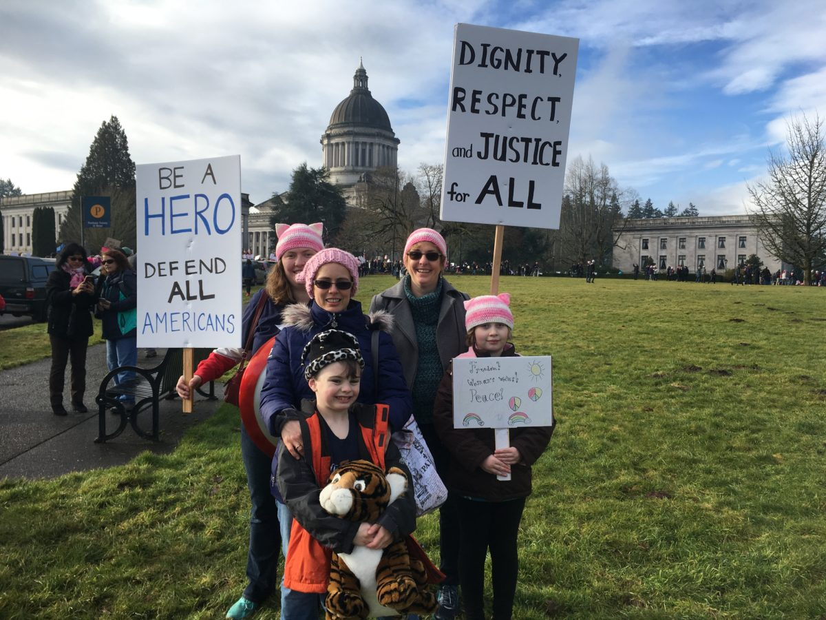 STORY WONDERS: FINDING THE COURAGE TO MARCH AND WRITE