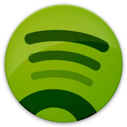 Spotify's logo. Posted to flickr by user Micky Aldridge.