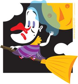 Wacky Witch by Lyuda Lavrentyeva
