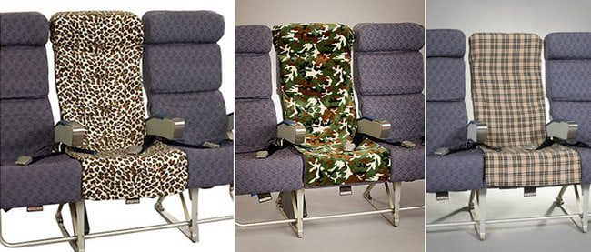 Maybe they could sell these 'pimp your seat' covers?