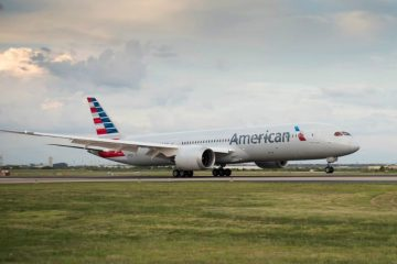 American Airlines 787 feature