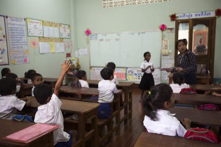 Cambodia New Hope School Students Classroom - IMG8169 Lg RGB