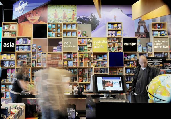 The Lonely Planet, Sydney Store