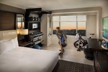 Hilton Gym Guest Rooms