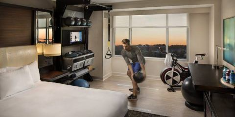 Hilton Gym Guest Rooms